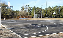 Maides Park Basketball Courts