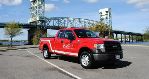 2014 Ford F-150 Truck | Housed at Station 3