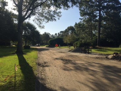 Pine Valley paving project
