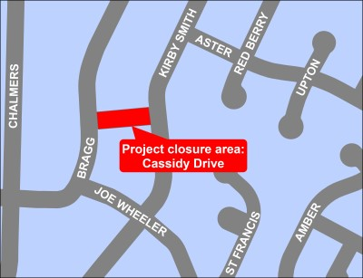 Cassidy Drive map