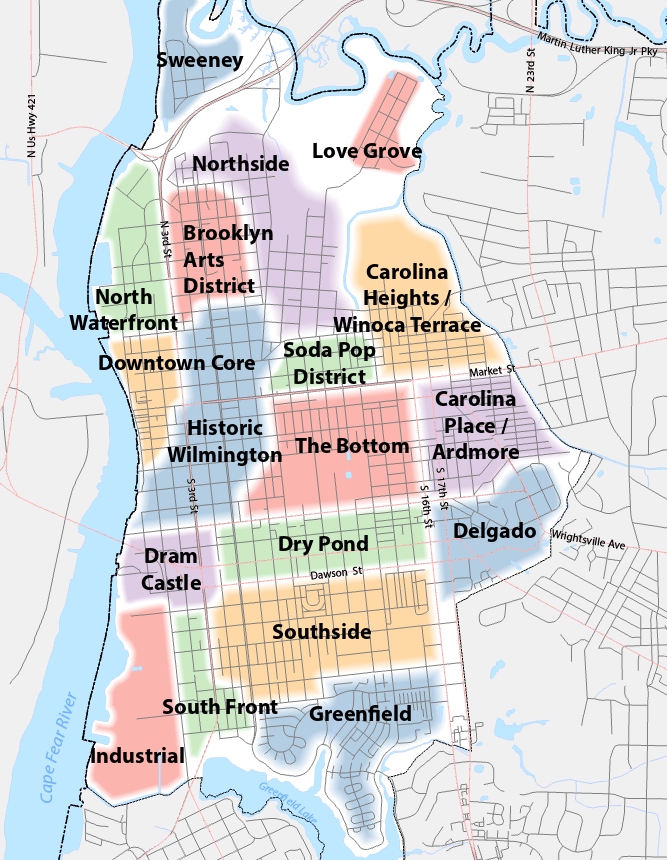 Greater Downtown Framework Plan City Of Wilmington Nc