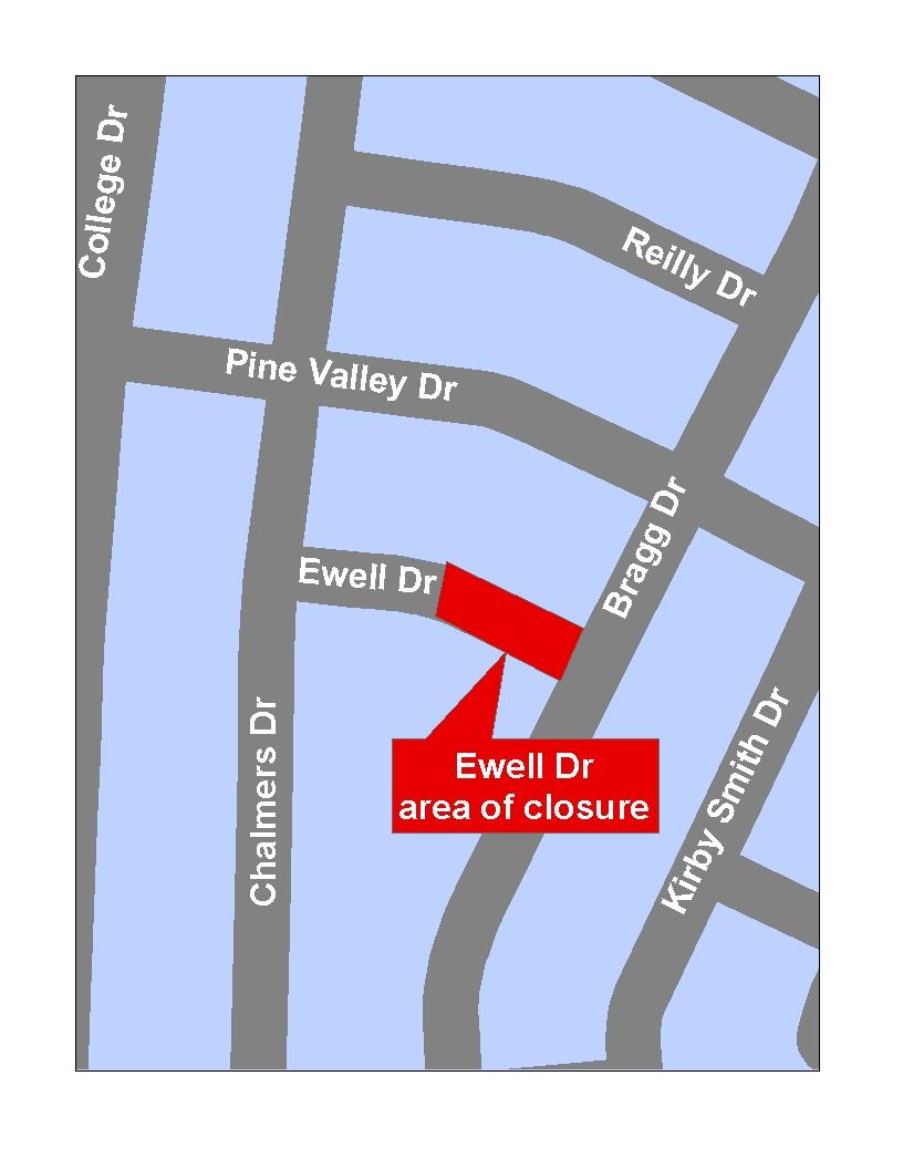 Ewell Drive Closure