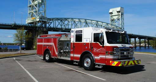 2016 Pierce Pumper | 1750 GPM | 500 G Tank | Automated Foam Distribution Capability | Housed at Station 3