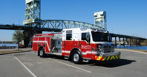 2016 Pierce Pumper | 1750 GPM | 500 G Tank | Automated Foam Distribution Capability | Housed at Headquarters
