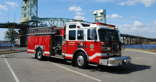 2000 Sutphen Pumper | 1500 GPM | 750 G Tank | Housed at Station 6