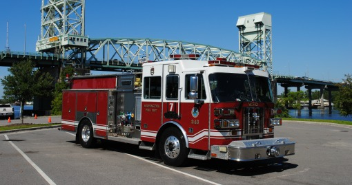 2006 Sutphen Pumper | 1500 GPM | 500 G Tank | Housed at Station 7