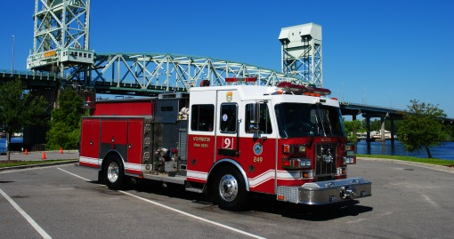 1999 Sutphen Pumper | 1500 GPM | 500 G Tank | Housed at Station 9
