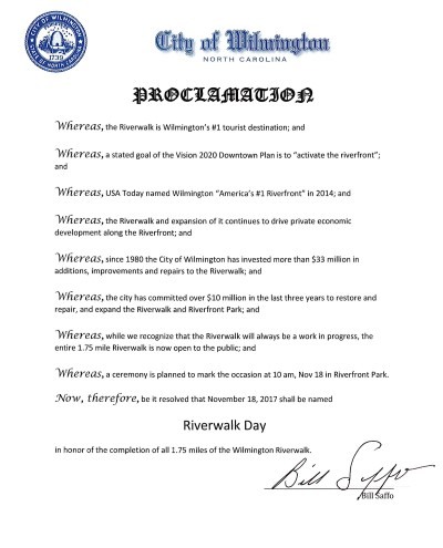 Riverwalk Day Proclamation