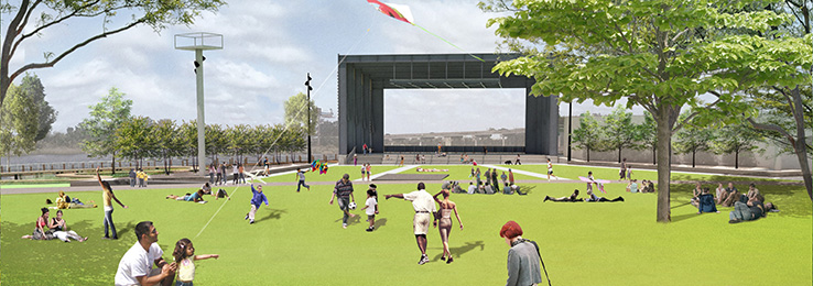 North Waterfront Park Final Rendering