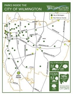 City and county parks map