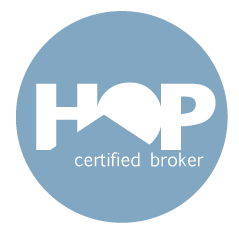 The HOP Certified Broker logo