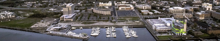 Aerial photo of Wilmington NC