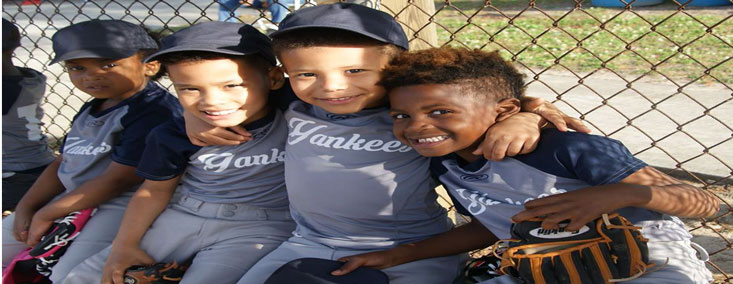 Picture of tball players