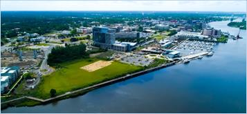 north waterfront park aerial