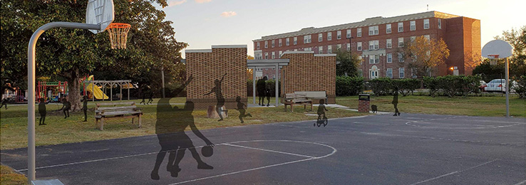 Portia Mills Hines Proposed Basketball Courts