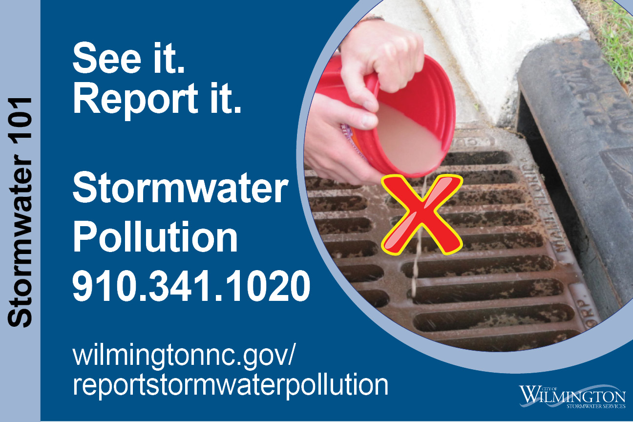 Report Stormwater Pollution