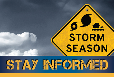 Storm Season - Stay Informed