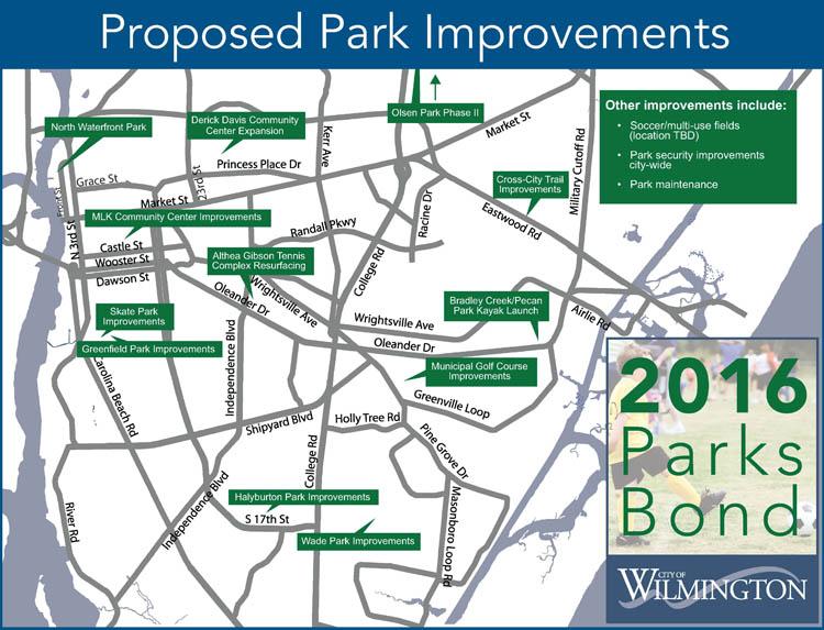 Parks Bond Map