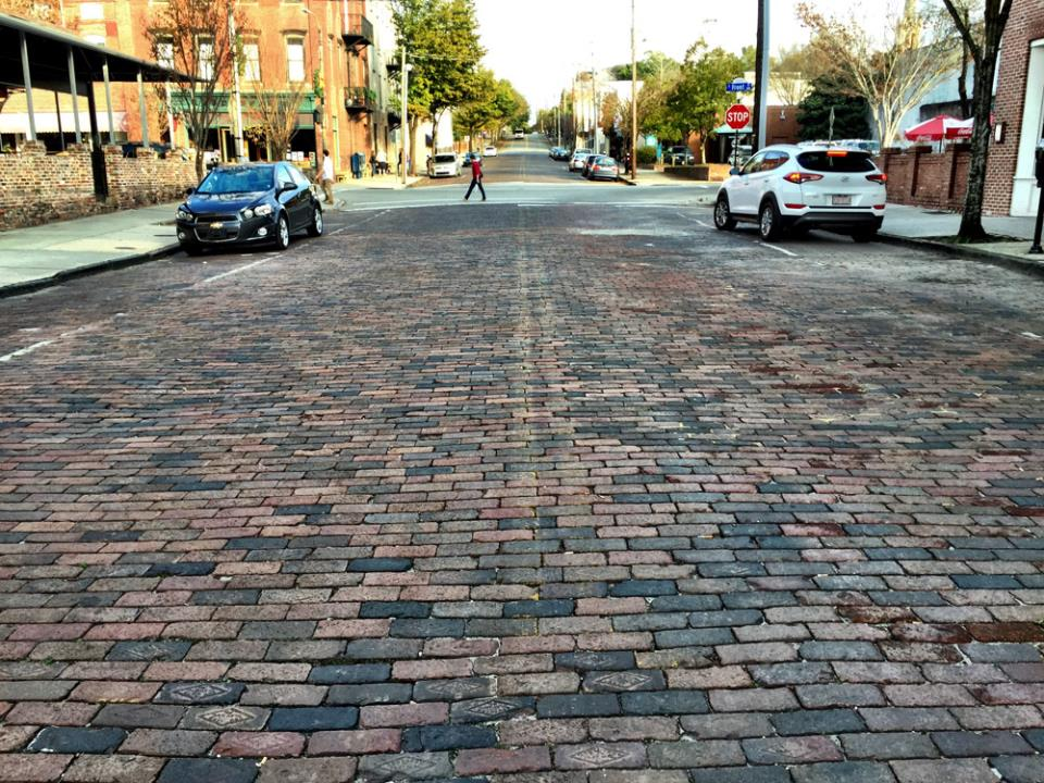 While Jackson attempts to destroy the past… Brick streets help Wilmington uncover its past